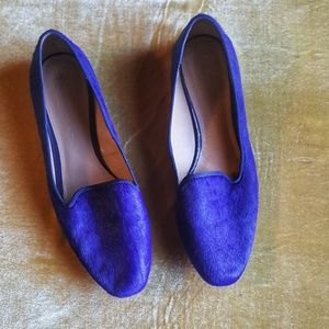 Banana republic roal blue loafer slip flats